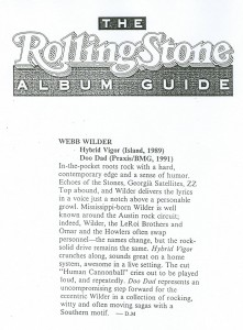 Rolling Stone reviews