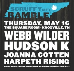 Scruffy City Ramble poster